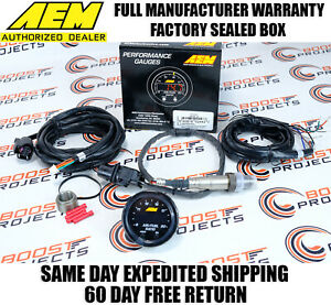 Aem X Series Wideband Gauge 52mm Uego Air Fuel Afr Controller 4 9 Sensor 30 0300
