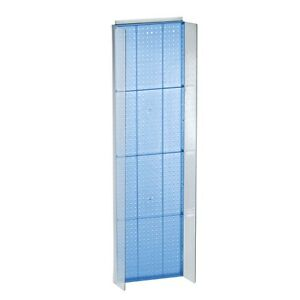 New Retails Blue Pegboard Powerwing Display 16 75 w X 60 high