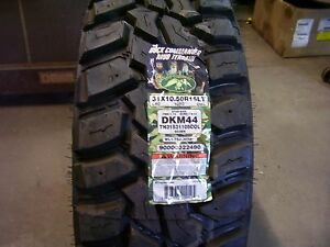 31 10 50 15 Duck Commander Mud Terrain New Tire