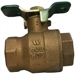Watts 1 Fbv th Outlet Ball Valve