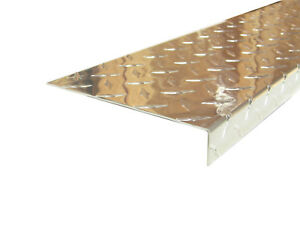 Aluminum Diamond Plate Angle 062 X 1 X 6 X 48 In Offset 3003 Uaac 2pcs