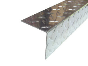 Aluminum Diamond Plate Angle 062 X 3 X 3 X 48 In 3003 Uaac 2pcs