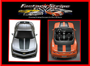 Ss Racing Stripes Chevy Camaro 2010 2011 2012 2013 Decals Vinyl Factory Stripe