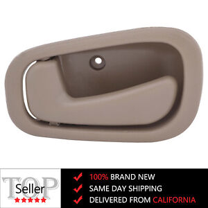 Left Driver Side Interior Door Handle For 1998 2002 Toyota Corolla Beige Fl Rl