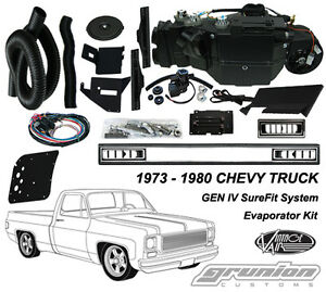 Chevy Truck No Ac 1973 1980 Vintage Air Conditioning Evaporator Kit 751175