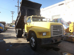 1995 Ford F800 Dump Truck low Miles Only 44 490