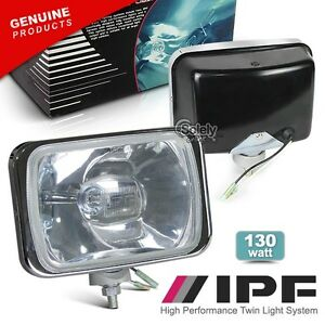 Authentic Pair Ipf 800 4x4 Off Road Light Combo Driving Spot Beam Complete Set