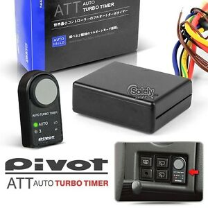 New Authentic Pivot Att Dashboard Fully Automatic 12v Turbo Timer Kit