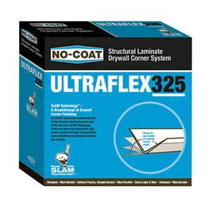 No coat Ultraflex 325 Flexible Drywall Corner Trim 100 Roll new