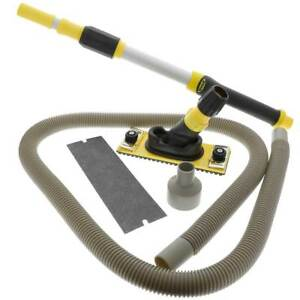 Hyde Professional Dustless Drywall Pole Sander Kit With Vacuum Pole 09175