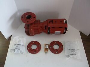 New Bell Gossett 2 Nfi Hot Water Circulator Pump 1 6 Hp 115v j8t