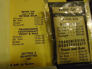Fits 33 49 Chysler Desoto Dodge Plymouth Transmission Needle Bearings