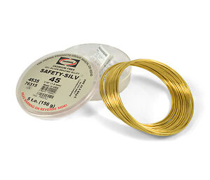 Harris Safety silv 45 1 16 Silver Solder Brazing Alloy 5 Troy Ounce 76315 4535