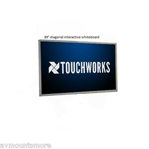 Touchworks 6 Touch Interactive Whiteboard 89 With Dry Erase