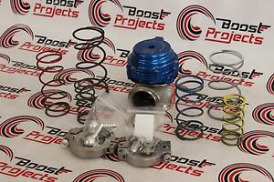 Tial Mvs 38mm Blue Authentic Wastegate With V Band Flanges Mv S 002952