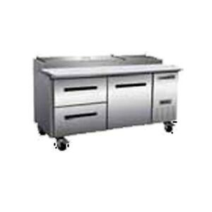 New Maxx Cold Mxccpp70 dl Maxxcold X series 71 Pizza Prep Table