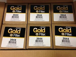 Case Of 6 Engine Oil Filter Napa 3944 Fil 3944 Free Shipping