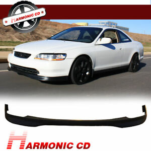 Fits 98 99 00 Honda Accord 2dr Coupe Front Bumper Lip T R Pp