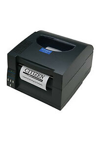 Citizen Cl s521 Direct Thermal Bar Code Printer 4 Inch Max 203 Dpi Usb seri