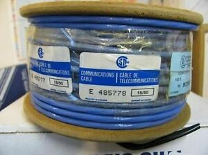 Belden 89272 006500 Twinax Cable 78 Ohm Teflon Wire 500 Feet