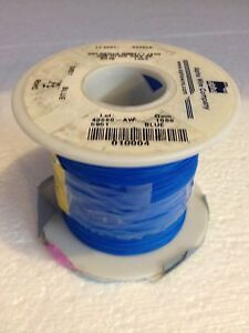 Alpha 5951 Blue 30 Awg Solid Spc Kynar Wire Blue 1000ft