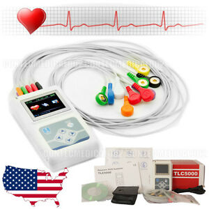 2018 Newest 12 channel Ecg ekg Holter System recorder Monitor analyzer Software