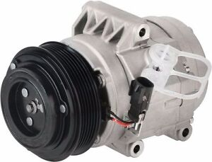 Ac Compressor With Clutch Fits 2007 2012 Ford Fusion Automatic Transmission