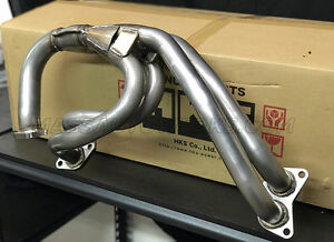 Hks Stainless Steel Equal Length Exhaust Manifold Fits 04 2020 Sti