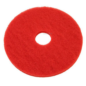 Red Floor Pads 13 Floor Buffer Polisher Cleaning Pads 1 Thick 5 Pack