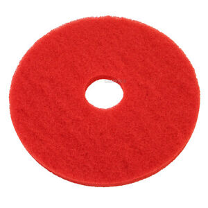 Red Floor Pads 15 Floor Buffer Polisher Cleaning Pads 1 Thick 5 Pack