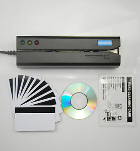 Usb Magnetic Stripe Swipe Msr605x Credit Card Reader Writer Encoder Msr206
