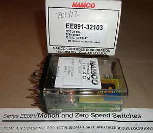 Namco Ee891 32103 Motion Switch Ee89132103 Zero Speed New