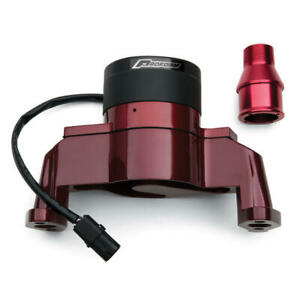 Proform Water Pump 66225r 35 Gpm Red Aluminum Electric For Chevy 262 400 Sbc
