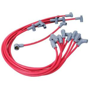 Msd Spark Plug Wire Set 35599 Super Conductor 8 5mm Red For Chevy 262 400 Sbc
