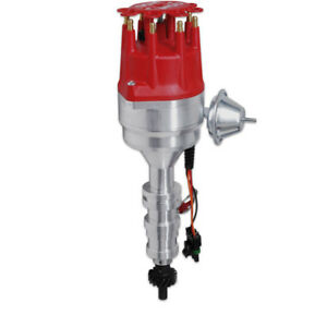 Msd Distributor 8595 Ready To Run Vacuum Advance For Ford 332 428 Fe