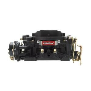 Edelbrock Carburetor 14063 Performer 600 Cfm 4 Barrel Vacuum Secondary Black