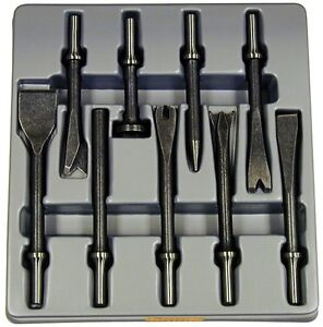 Atd 9pc Air Hammer Chisel Punch Cutter Bit Set With 401 Shank 5730