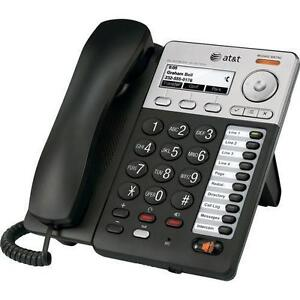At t Sb67020 Synapse Basic Corded Voip Deskset With Caller Id Speakerphone