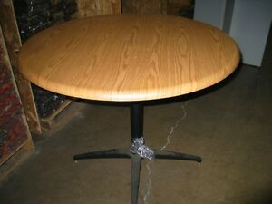 Round Conference Table wood Laminate Top 42 Round