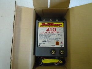 Bulldozer Model 410 e Electric Fence Controller 6 Volt 5 Mile New