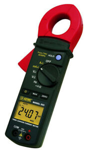Aemc 565 2117 56 Trms Clamp on Leakage Current Meter