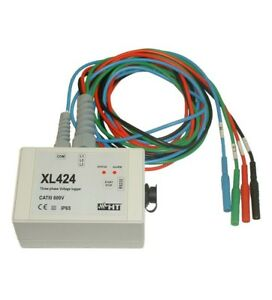 Ht Instruments Xl424 3 phase Voltage Data Logger
