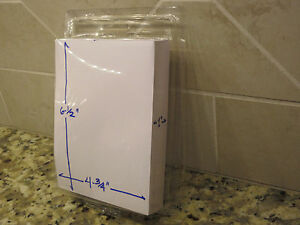Large Qty 50 Clamshell Blister Packs Clear Boxes Hanging Packaging 4 75x6 5x1