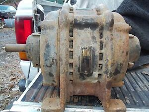 40hz Antique General Electric Ge Induction Motor 5hp 550v 3 Phase 5a 40 Hertz