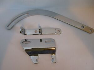 Chevy Alternator Bracket With Swp Driver Side Sbc 283 327 350 9254 9079 9008