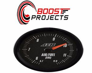 Aem Analog E85 Wideband Air Fuel Gauge 5 7 To 11 9 1afr 30 5143