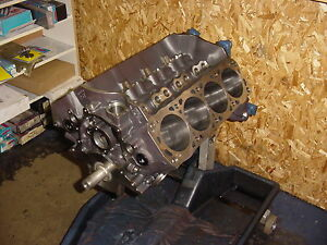 Ford 351w Windsor Stroker Short Block 462cid Forged Internals Giant Blower