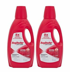 Rug Doctor 04127 Portable Machine And Upholstery Cleaner 2 pack New Free Ship