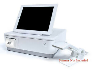 Star Mpop Tablet Stand Cash Drawer And Printer White 39650810
