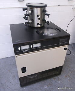 Labconco Freeze Dry System Lyph lock 6 With Welch Directorr Ii Vacuum Pump